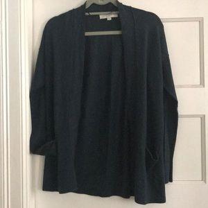 Dark Turquoise/ Forest Green Blue Loft Cardigan